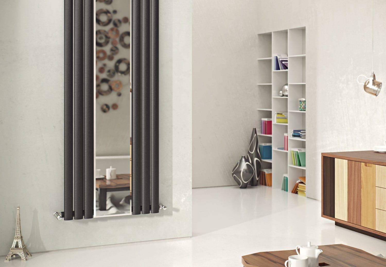 Anthracite Mirror Radiators Agadon Heat Design