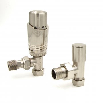 Agadon Nickel Deluxe Valve Set