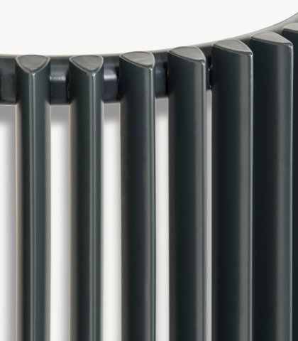 Aurora E Corner Vertical Designer Tube Radiator Agadon