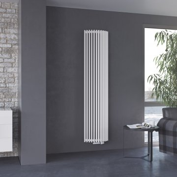 Aurora W Oval Vertical Tube Radiator