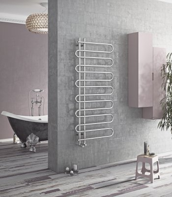 Boa Chrome Towel Radiator