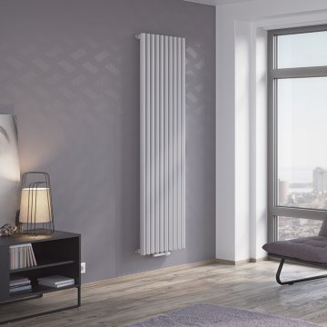 Forte Spin Vertical Oval Tube Radiator