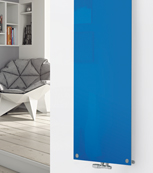 Glass Designer Radiator P126 RAL 5015 Sky Blue