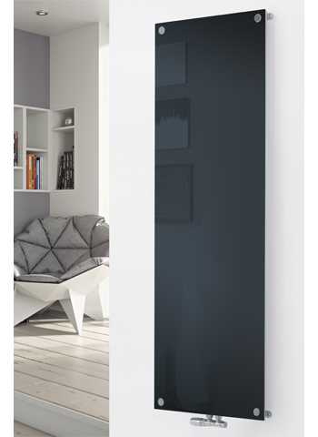 Glass Designer Radiator P128 RAL 7016 Anthracite