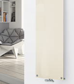Glass Designer Radiator P131 RAL 9001 Cream