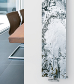 Glass Designer Radiator P16 Water Image