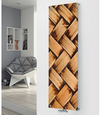 Glass Designer Radiator P47 Weave  Image