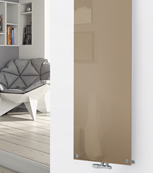 Glass Dessigner Radiator P118 RAL 1019 Grey Beige