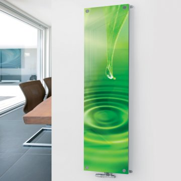 Glass Picture Radiator P4 Water Drop Showroom Sale