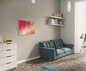 Horizontal Infrared Radiator - IR2-H Red Art Image