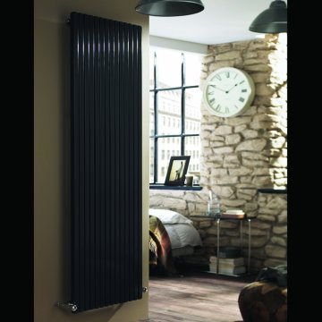 Kamino Square Designer Radiator Vertical Tube