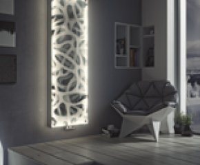 LED Panio Crystal Glass Picture Radiator P8 ABSTRACT IMAGE