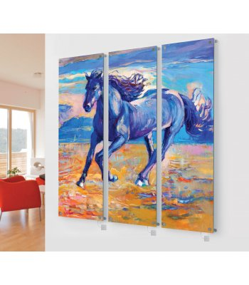 M10 Triple glass horse image Ex Display