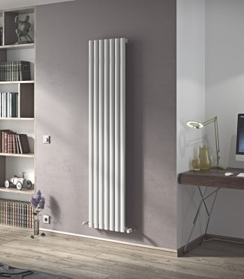 Neo Designer Radiator Vertical Oval Tube Agadon Heat
