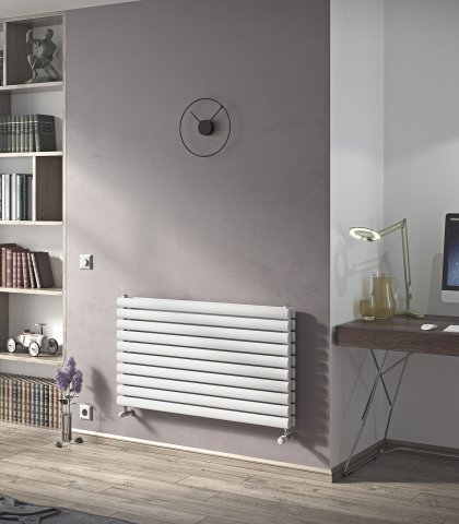 Neo Horizontal Duplex Oval Tube Radiator
