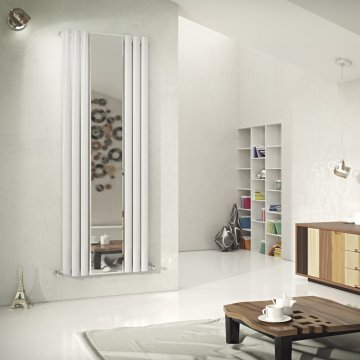 Neo Mirror Vertical Tube Radiator