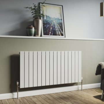 Panio 600 Vertical Single Flat Panel Radiator