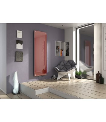 Panio Crystal Coloured Glass Electro Designer Electric Radiator