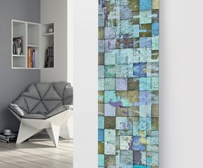 Panio Crystal Glass Designer Radiator P102 Multi Tile Image