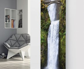Panio Crystal Glass designer radiator P170 Waterfall with Bridge  Image