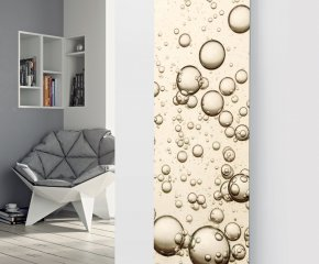 Panio Crystal Glass designer radiator P173 Bubbles Image