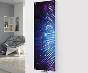 Panio Crystal Glass Designer Radiator P36 Disco Lights Image