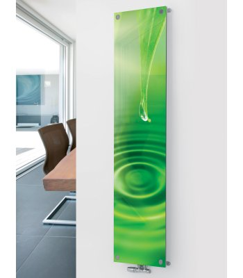Panio Crystal Glass Designer Radiator P4 Water Drop Image