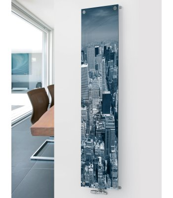 Panio Crystal Glass Designer Radiator P5 City Image