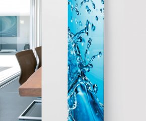 Panio Crystal Glass Designer Radiator P7 Splash Image