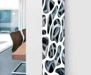 Panio Crystal Glass Designer Radiator P8 Pattern Image