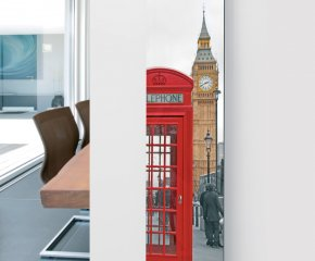 Panio Crystal Glass Picture Designer Radiator P10 Phone Box Image