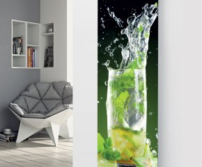 Panio Crystal Glass Picture Designer Radiator P134 Mojito