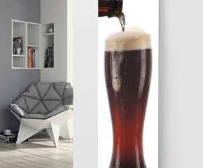 Panio Crystal Glass Picture Designer Radiator P21 Beer Glass Image