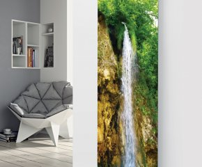 Panio Crystal Glass Picture Designer Radiator P26 Water fall Image
