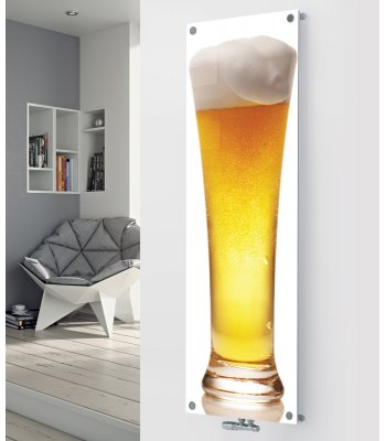 Panio Crystal Glass Picture Designer Radiator P27 Lager Glass Image