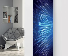 Panio Crystal Glass Picture Electric Designer Radiator - P36 Disco Lights Image