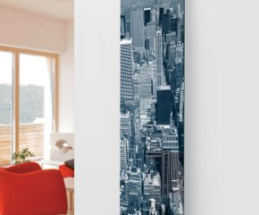 Panio Crystal Glass Picture Electric Designer Radiator - P5 City Image