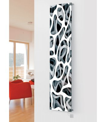 Panio Crystal Glass Picture Electric Designer Radiator - P8 Pattern Image