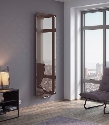 Panio Crystal Mirror Glass Designer Radiator