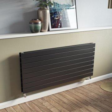 designer radiators for kitchens. Panio Duplex Flat Panel Horizontal Designer Radiator Radiators for Kitchens  Agadon Heat Design