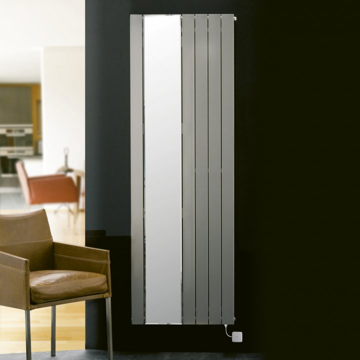 Panio Electro Part Mirror Flat Panel Designer Radiator