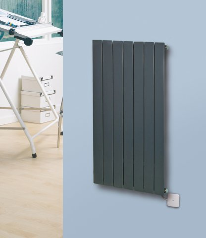 Panio Electro Vertical Designer Electric Radiator