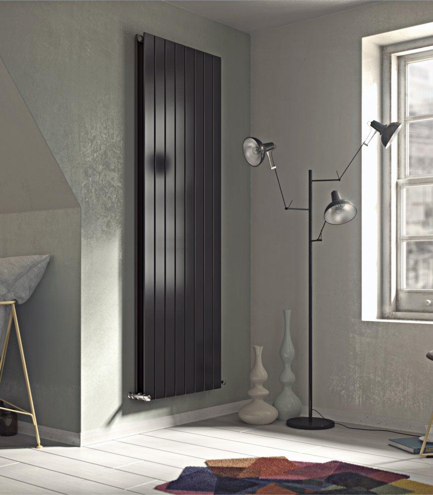 Panio vertical duplex double flat panel designer radiator