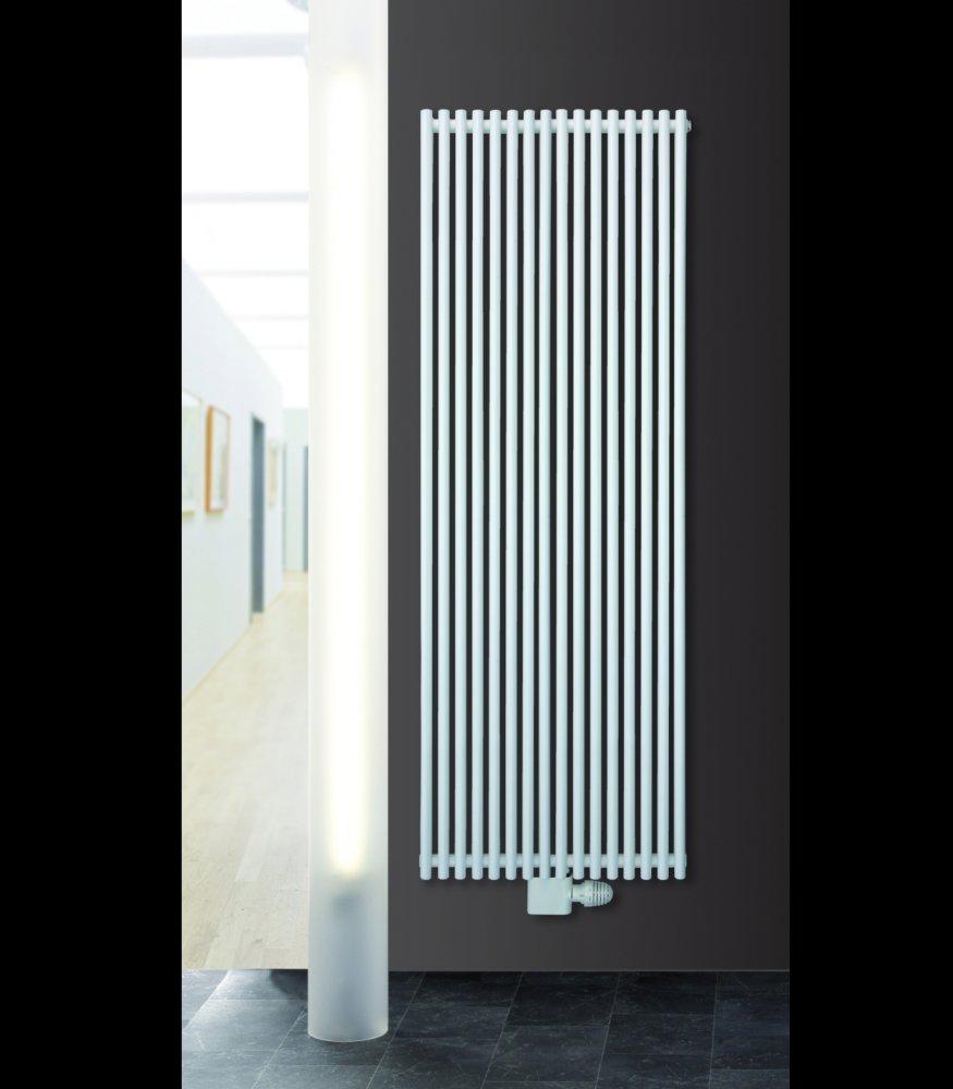 Titan Vertical Duplex Designer Tube Radiator - Agadon Heat & Design