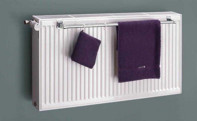 Towel Rail For Double Panel Radiator