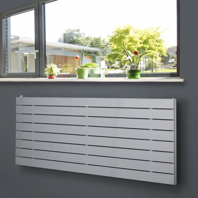 Coloured Horizontal Radiators